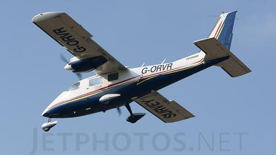 G-ORVR - Partenavia P.68B Victor - Ravenair