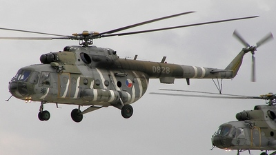 0828 - Mil Mi-17 Hip - Czech Republic - Air Force