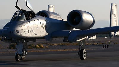 80-0168 - Fairchild A-10A Thunderbolt II - United States - US Air Force (USAF)