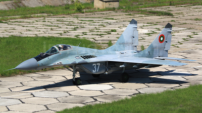 37 - Mikoyan-Gurevich MiG-29A Fulcrum - Bulgaria - Air Force