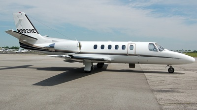 N992HE - Cessna 550 Citation II - Private