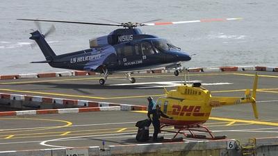 A picture of N7DQ - Bell 206L1 LongRanger II - [45685] - © cicadajet/Tom Turner