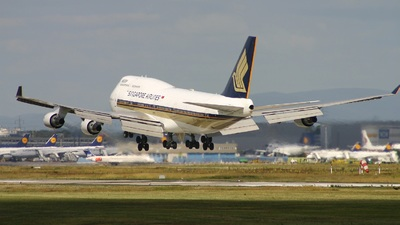 9V-SMV - Boeing 747-412 - Singapore Airlines