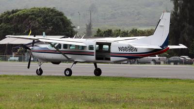 A picture of N989BW - Cessna 208B Grand Caravan - [208B1058] - © Brian T Richards