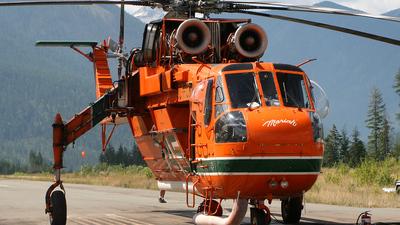 C-FCRN - Sikorsky S-64E Helitanker - Canadian Air-Crane