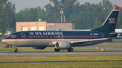 N780AU - Boeing 737-4B7 - US Airways