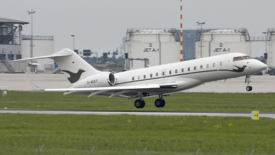 A picture of DAEKT - Bombardier Global Express - [9213] - © Lutz Herzog