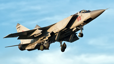 55 - Mikoyan-Gurevich MiG-31 Foxhound - Russia - Air Force