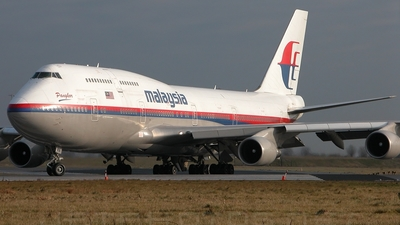 9M-MPN - Boeing 747-4H6 - Malaysia Airlines