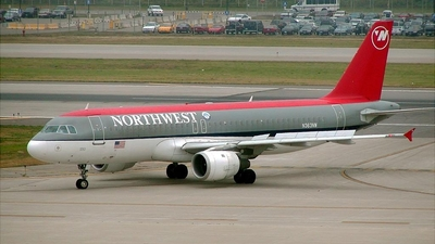 N363NW - Airbus A320-212 - Northwest Airlines
