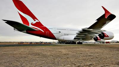 VH-OQA - Airbus A380-842 - Qantas