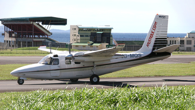 J8-MQS - Aero Commander 500B - Mustique Airways