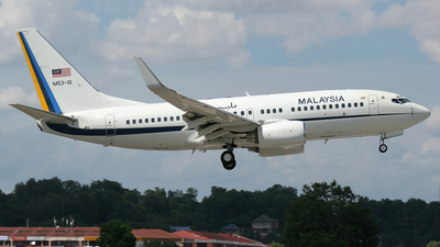 M53-01 - Boeing 737-7H6(BBJ) - Malaysia - Air Force