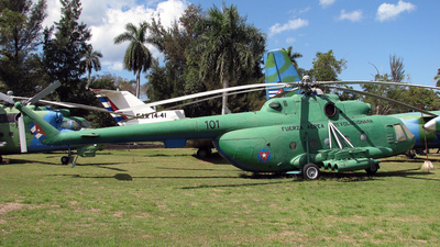 101 - Mil Mi-17 Hip - Cuba - Air Force