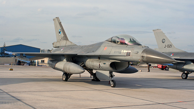 J-192 - General Dynamics F-16AM Fighting Falcon - Netherlands - Royal Air Force