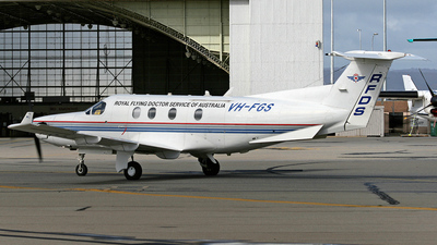 VH-FGS - Pilatus PC-12/45 - Royal Flying Doctor Service of Australia (Central Section)