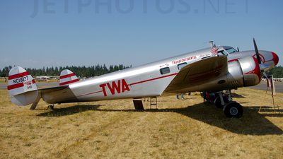 NC18137 - Lockheed 12A Electra - Private