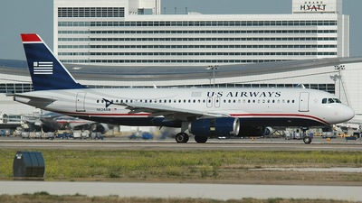 N624AW - Airbus A320-231 - US Airways (America West Airlines)
