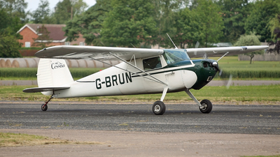 G-BRUN - Cessna 120 - Private
