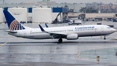 N73291 - Boeing 737-824 - Continental Airlines