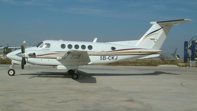5B-CKJ - Beechcraft 200 Super King Air - Work Aviation Services