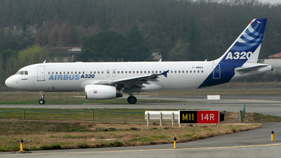 F-WWBA - Airbus A320-131 - Airbus Industrie