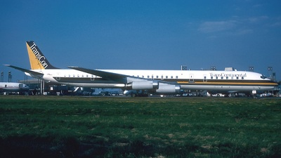 N820TC - Douglas DC-8-63 - Trans Continental Airlines