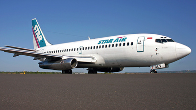 PK-ALV - Boeing 737-2B7(Adv) - Star Air
