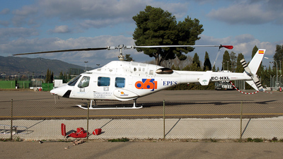 EC-HXL - Bell 222 - Fumigación Aérea Andaluza (FAASA)