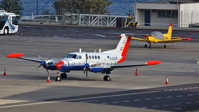 D-CACB - Beechcraft 200T Super King Air - Aerodata Flight Inspection