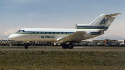 I-JAKO - Yakovlev Yak-40K - Alinord