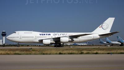 EK-74711 - Boeing 747SR-81(SF) - Vertir Airlines