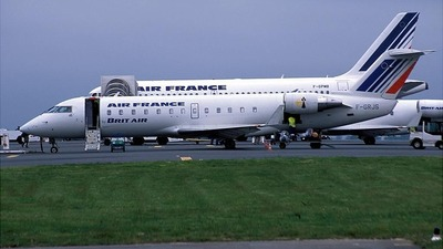 F-GRJS - Bombardier CRJ-100ER - Air France (Brit Air)