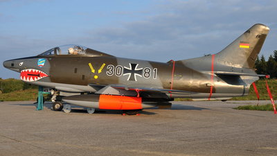 30-81 - Fiat G91-R/3 - Germany - Air Force