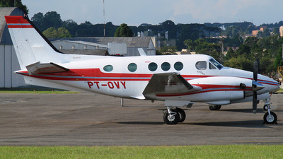 PT-OVY - Beechcraft C90 King Air - Private