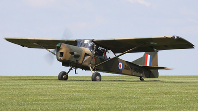 A picture of GBDFH - Auster AOP.9 - [AUS/177] - © hjcurtis