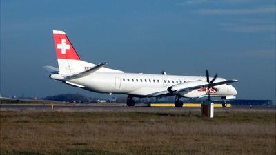 HB-IZL - Saab 2000 - Swiss