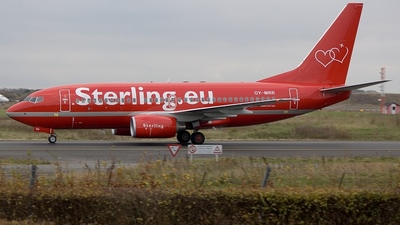 OY-MRR - Boeing 737-7K9 - Sterling Airlines