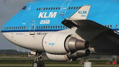 PH-BFD - Boeing 747-406(M) - KLM Asia