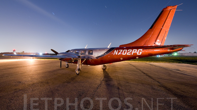 N702PG - Piper PA-60-700P Aerostar - Private