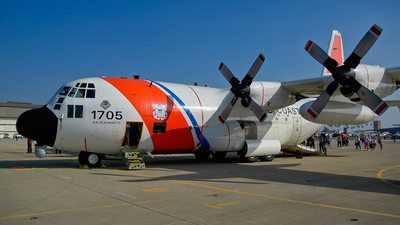 1705 - Lockheed HC-130H Hercules - United States - US Coast Guard (USCG)