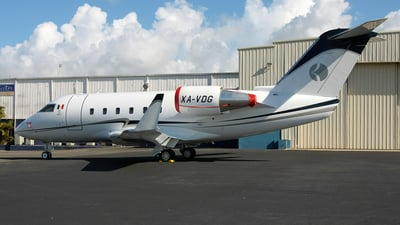 A picture of XAVDG - Bombardier CL601 Challenger - [5004] - © Angel Natal
