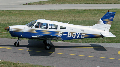 A picture of GBOXC - Piper PA28161 - [2816063] - © Brian T Richards