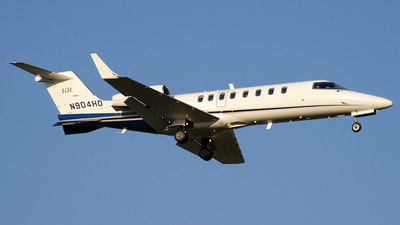 N904HD - Bombardier Learjet 45 - Private