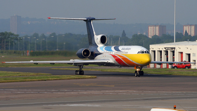 LZ-HMQ - Tupolev Tu-154M - BH Air