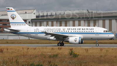 D-AVXO - Airbus A319-115(CJ) - Kuwait - Government