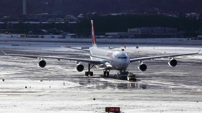 HB-JMG - Airbus A340-313X - Swiss