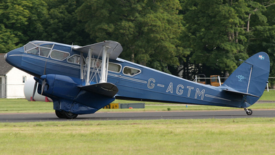 G-AGTM - De Havilland DH-89A Dragon Rapide - Air Atlantique