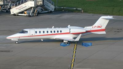 A picture of LXIMZ - Learjet 45 - [45266] - © Mark Abbott