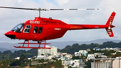 ZK-HRS - Bell 206B JetRanger - Rick Lucas Helicopters